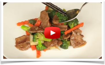 Comidas Saludables súper fáciles de preparar - Salteado de Ternera y Brocoli - Un plato facil de preparar ideal para un almuerzo o cena post entrenamiento