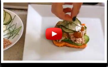 - Sandwich de Zanahoria, un Fast Food saludable, especial si no comeras en casa