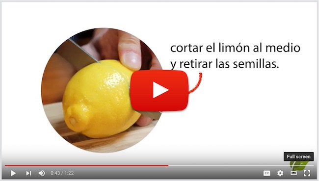 Remedios Caseros Naturales - Video explicando 2 formas de preparar agua tibia con limón